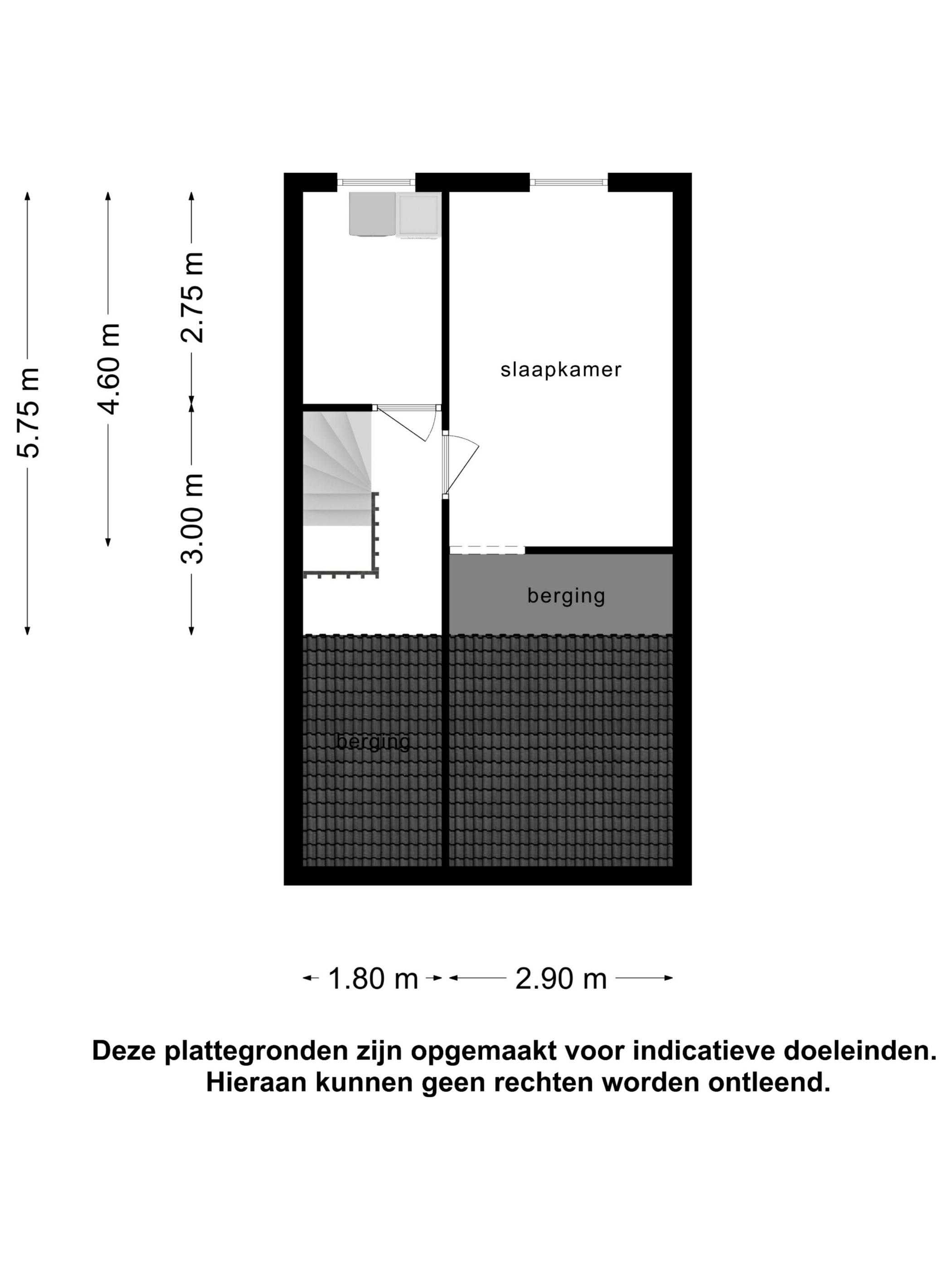 Tweede verdieping.